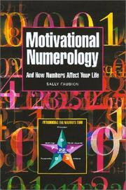 Cover of: Motivational Numerology