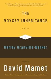 Cover of: The Voysey inheritance: a play