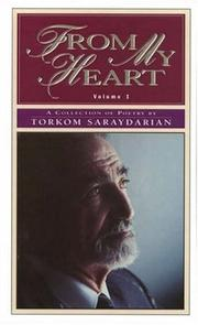 Cover of: From my heart | Torkom Saraydarian