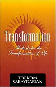 Cover of: Transformation | Torkom Saraydarian