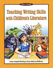Cover of: Teaching writing skills with children