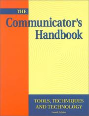 Cover of: The Communicator's Handbook