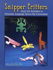 Cover of: Snipper Critters | Mary Doerfler-Dall