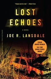 Cover of: Lost Echoes: a novel