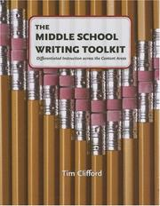 Cover of: The Middle School Writing Toolkit