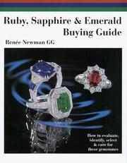 Cover of: Ruby, Sapphire & Emerald Buying Guide