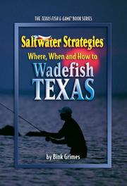 Cover of: Saltwater Strategies
