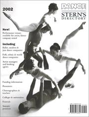 Cover of: Dance Magazine's Stern's Directory 2002 (Dance Annual Directory)
