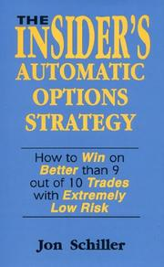 Cover of: The insider's automatic options strategy