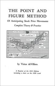 Cover of: The Point and Figure Method of Anticipating Stock Prices