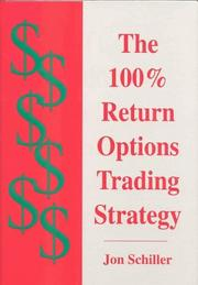 Cover of: The 100% Return Options Trading Strategy