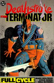 Cover of: Deathstroke, the terminator