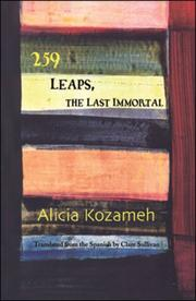 Cover of: Two hundred fifty-nine leaps, the last immortal