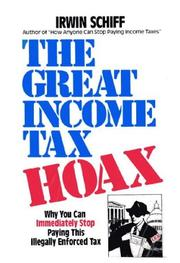Cover of: The Great Income Tax Hoax
