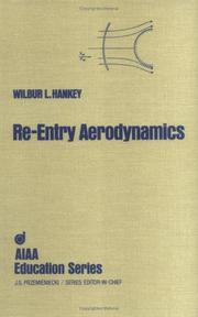 Cover of: Re-Entry Aerodynamics (Aiaa Education Series)