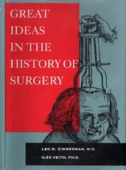 Great Ideas in the History of Surgery: