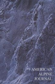 Cover of: The American Alpine Journal 1998 (American Alpine Journal)