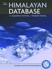 Cover of: The Himalayan Database | Elizabeth Hawley