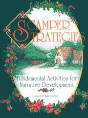 Scamper strategies by Carol A. Esterreicher