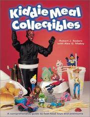 Cover of: Kiddie meal collectibles