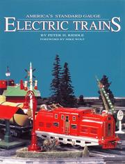 Cover of: America's standard gauge electric trains