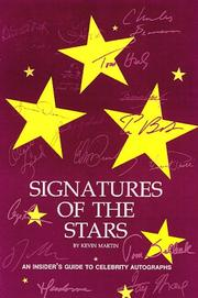 Cover of: Signatures of the stars