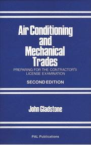 Cover of: Air conditioning and mechanical trades