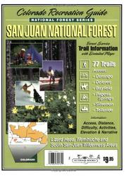 Cover of: San Juan National Forest (National forest series)