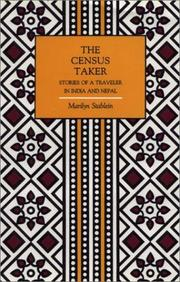 Cover of: The Census Taker | Marilyn Stablein