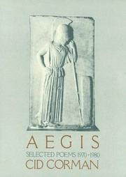 Cover of: Aegis, Selected Poems 1970-1980