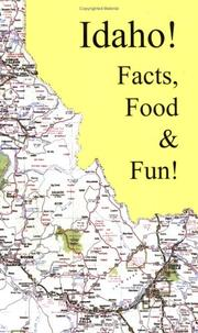 Cover of: Idaho Facts, Food & Fun