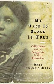 My face is black is true by Mary Frances Berry