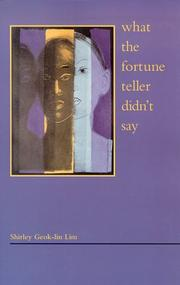Cover of: What the Fortune Teller Didn't Say