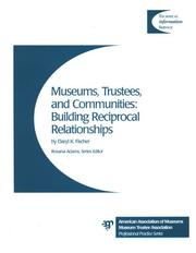 Cover of: Museums Trustees and Communities