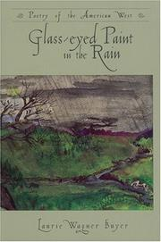 Cover of: Glass-eyed paint in the rain