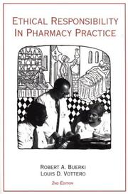 Cover of: Ethical Responsibility in Pharmacy Practice