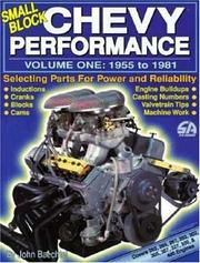 Cover of: Small Block Chevy Performance, 1955-81