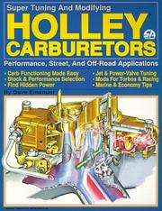 Cover of: Holley Carburetors