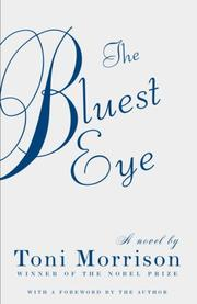 Cover of: The Bluest Eye (Vintage International)