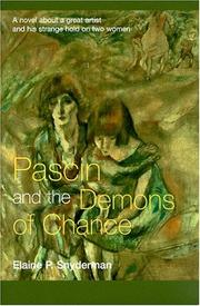 Cover of: Pascin and the Demons of Chance