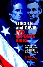 Cover of: Lincoln And Davis | William O. Lawton