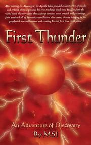 Cover of: First Thunder