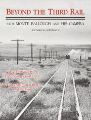 Cover of: Beyond the third rail | Doris B. Osterwald