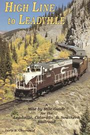 Cover of: High line to Leadville
