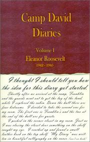 Cover of: Eleanor Roosevelt, 1942-1945 (Camp David Diaries, Vol. 1) (Camp David Diaries)
