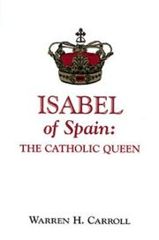 Cover of: Isabel of Spain