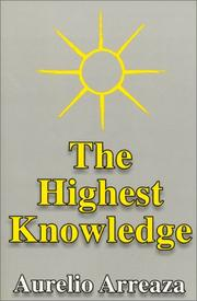 Cover of: The highest knowledge