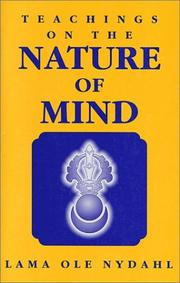 Cover of: Teachings on the nature of mind