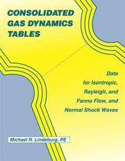 Cover of: Consolidated gas dynamics tables