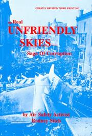 Cover of: The real unfriendly skies